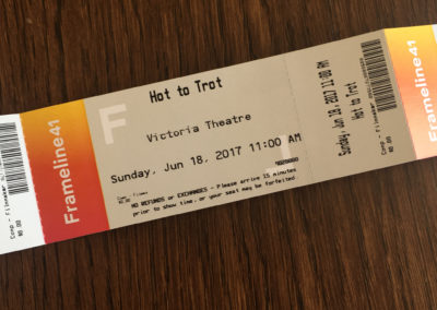 Hot to Trot movie ticket – Frameline Festival