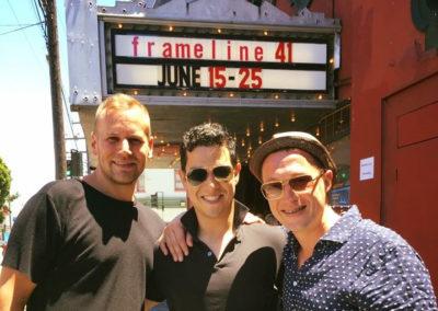 Post-screening Q&A at HTT World Premiere (Photo by Mark Undercoffler)