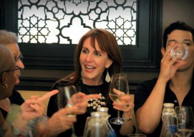Director Gail Freedman – HTT Post-screening party (Photo by Aliah Alsarraf)