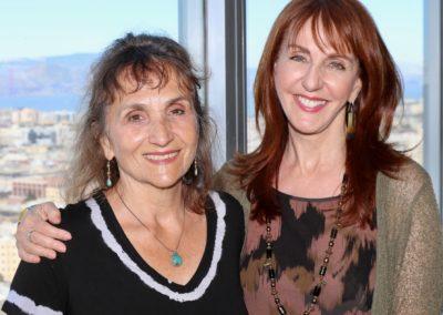 Director Gail Freedman & Editor Dina Potocki at Frameline festival (Photo by Andrea Salles)