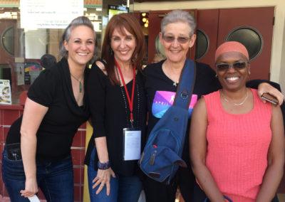 Kieren Jameson, Gail Freedman, Barbara Zoloth, Sharon Washington – HTT Berkeley Screening (Photo by Aliah Alsarraf)