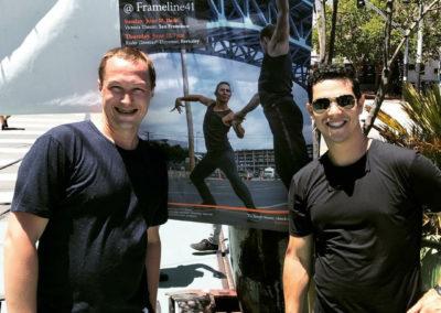 Nikolai Shpakov & Ernesto Palma (Photo by Gail Freedman)
