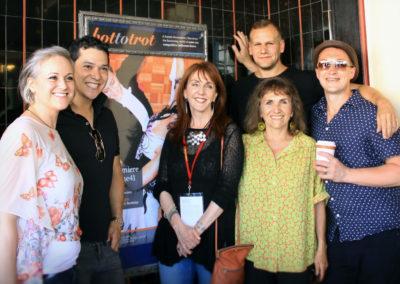 Kieren Jameson, Ernesto Palma, Gail Freedman, Robbie Tristan, Dina Potocki, Nikolai Shpakov at HTT World Premiere (Photo by Aliah Alsarraf)